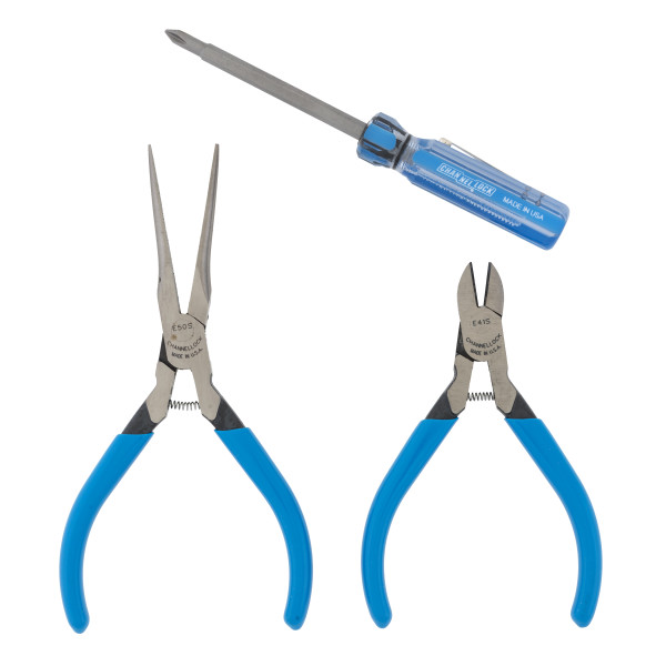 LC-21S 2pc Pliers Set with 2n1 Professional Driver