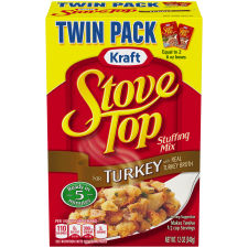 Kraft Stove Top Stuffing Mix for Turkey 12 oz Box