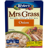 Wyler's Mrs. Grass Onion Recipe, Soup & Dip Mix 2 oz Box image