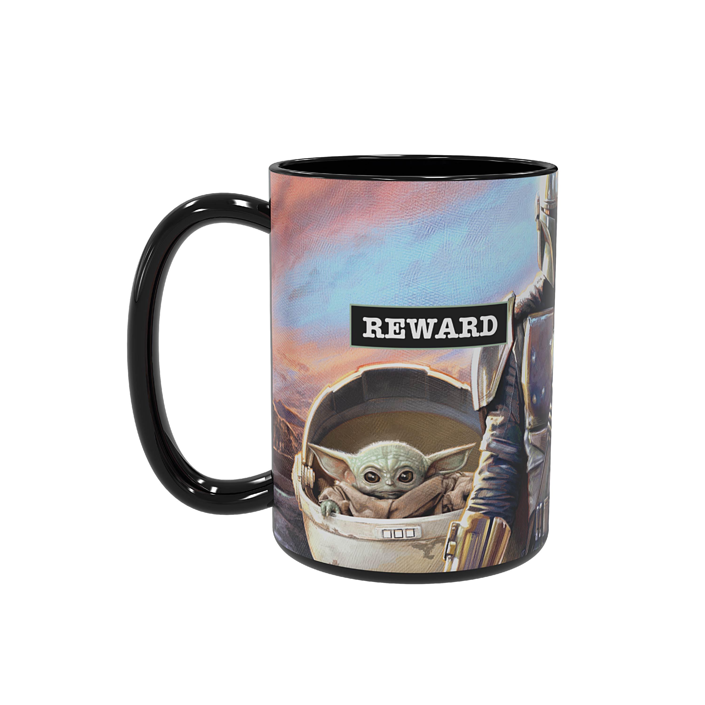 Star Wars: The Mandalorian 15 ounce Ceramic Coffee Mugs, The Mandalorian slideshow image 5