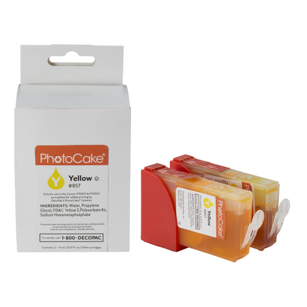 Cartridge, Deco Yellow PhotoCake® Ink