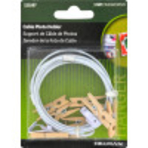 Hillman Photo Cable with Clips 30lb