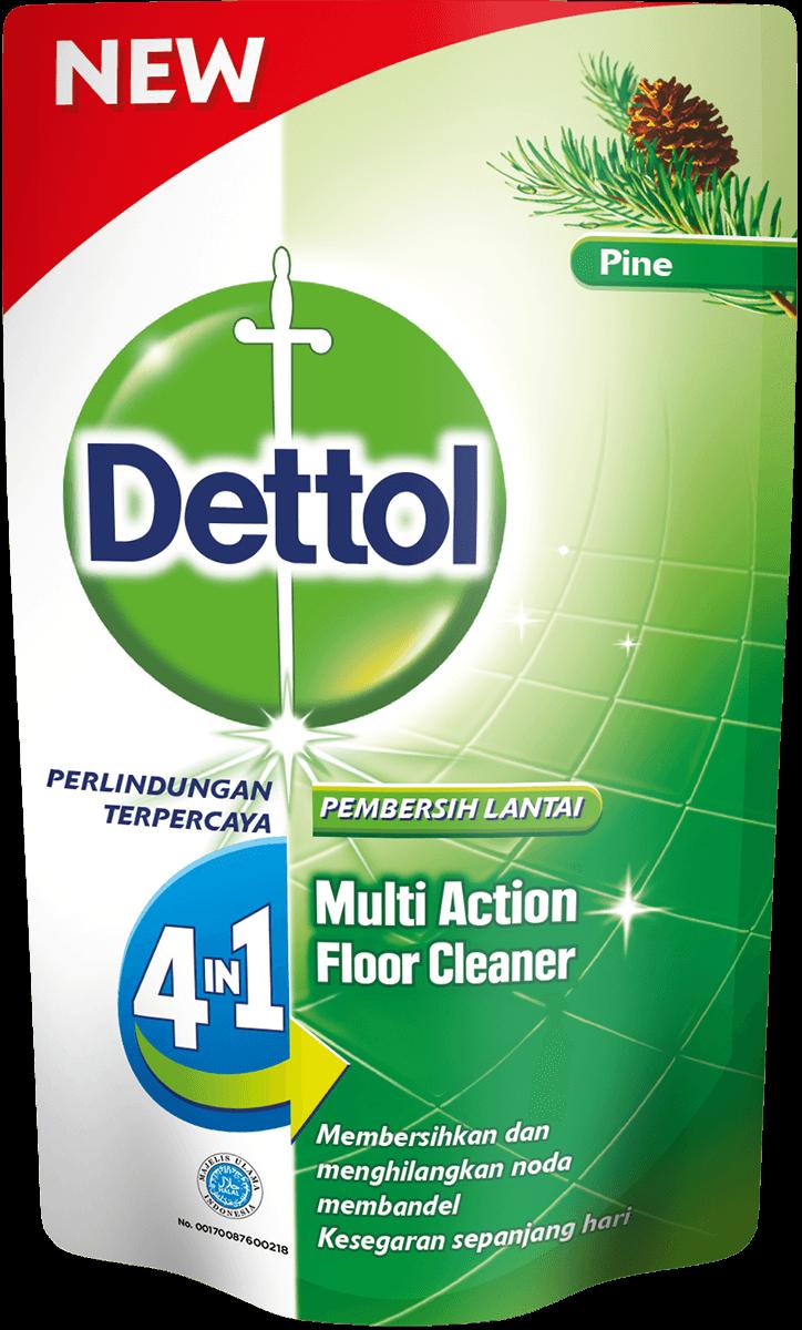 Pembersih Lantai Anti Bakteri Dettol Original