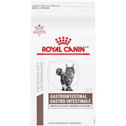 Gastrointestinal Moderate Calorie Dry Cat Food