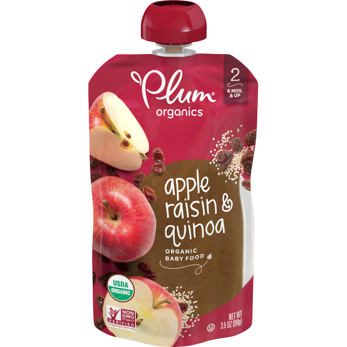 Apple, Raisin & Quinoa Baby Food