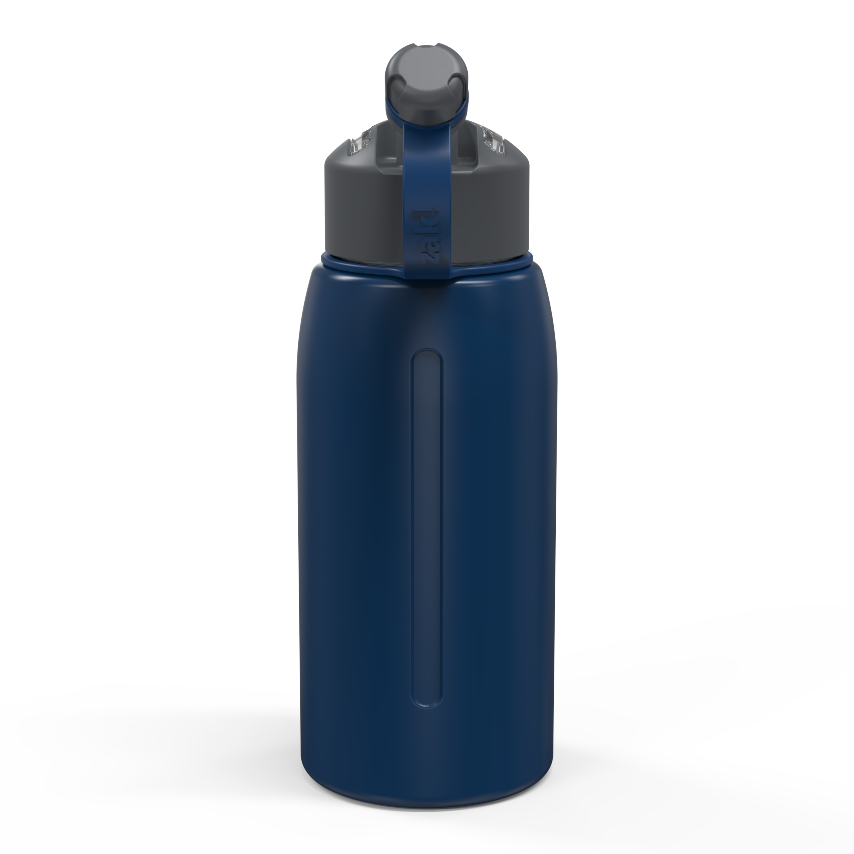 Genesis 32 ounce Vacuum Insulated Stainless Steel Tumbler, Indigo slideshow image 8
