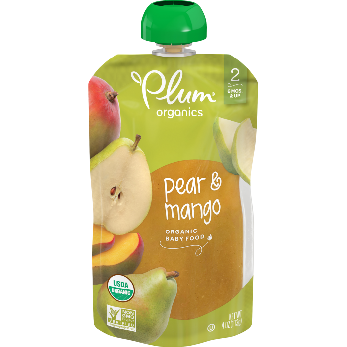 Pear & Mango Baby Food