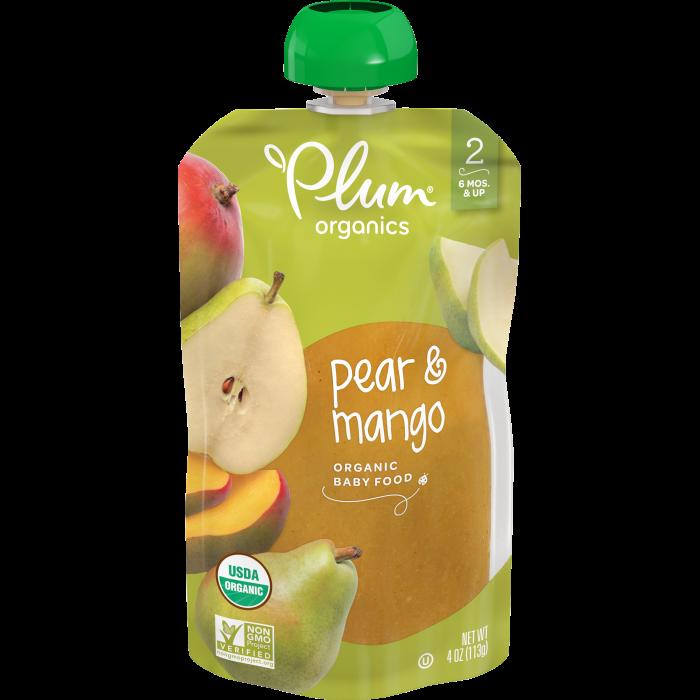 Pear & Mango Baby Food