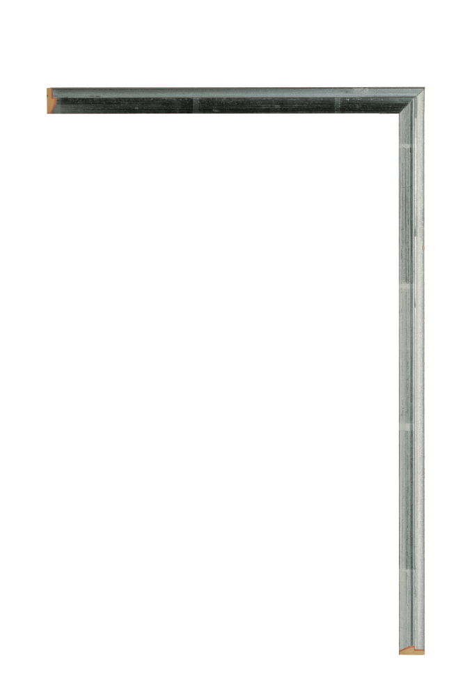 Deco Fillet Silver 3/8