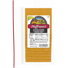 Hoffman's Super Sharp Cheddar Cheese 8 oz Box