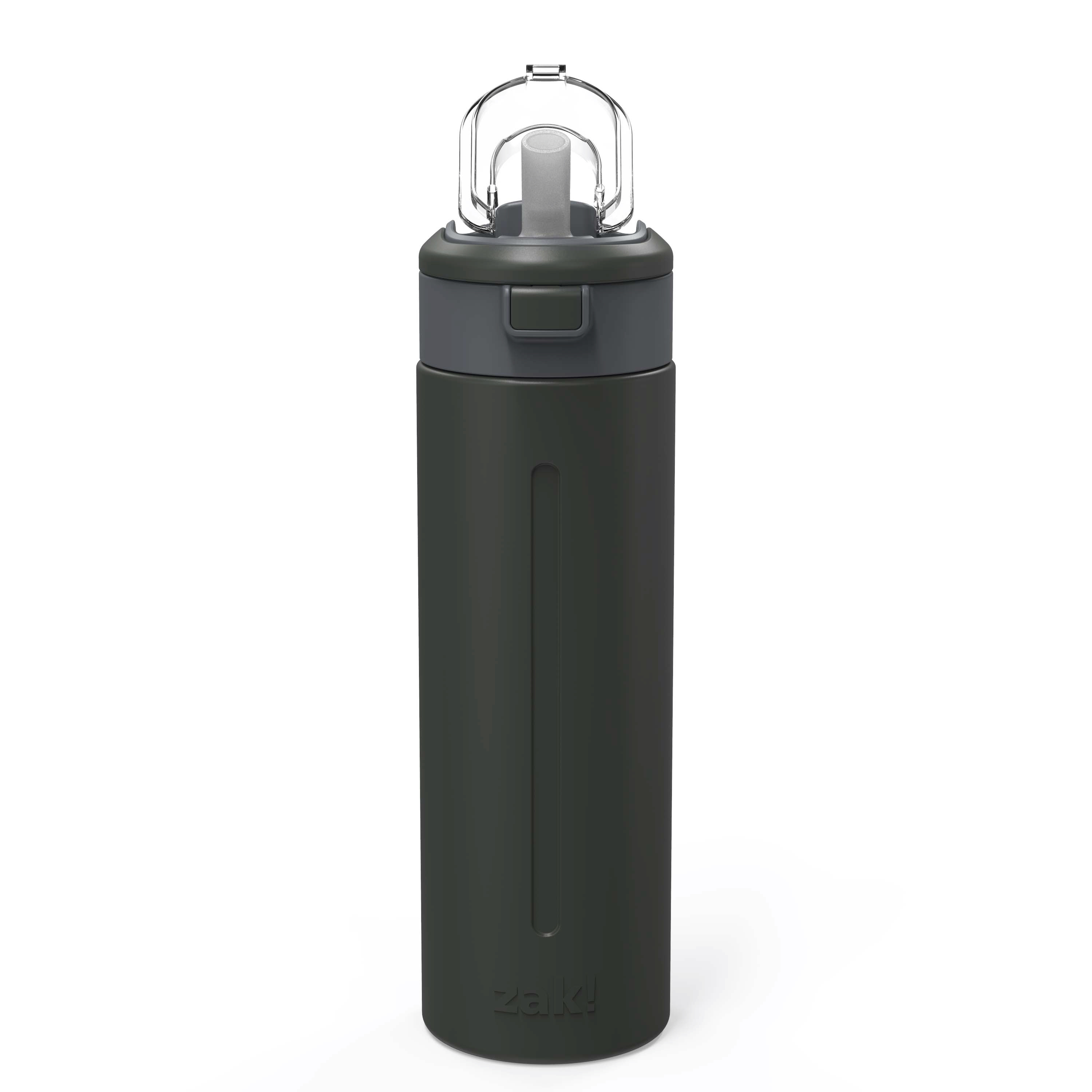 Genesis Vaccum Insulated Stainless Steel Water Bottle, Charcoal slideshow image 3