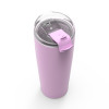 Aberdeen 30 ounce Vacuum Insulated Stainless Steel Tumbler, Lilac slideshow image 4