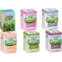 Charleston Pyramid Bag Sampler - Case of 6 boxes - total of 72 teabags