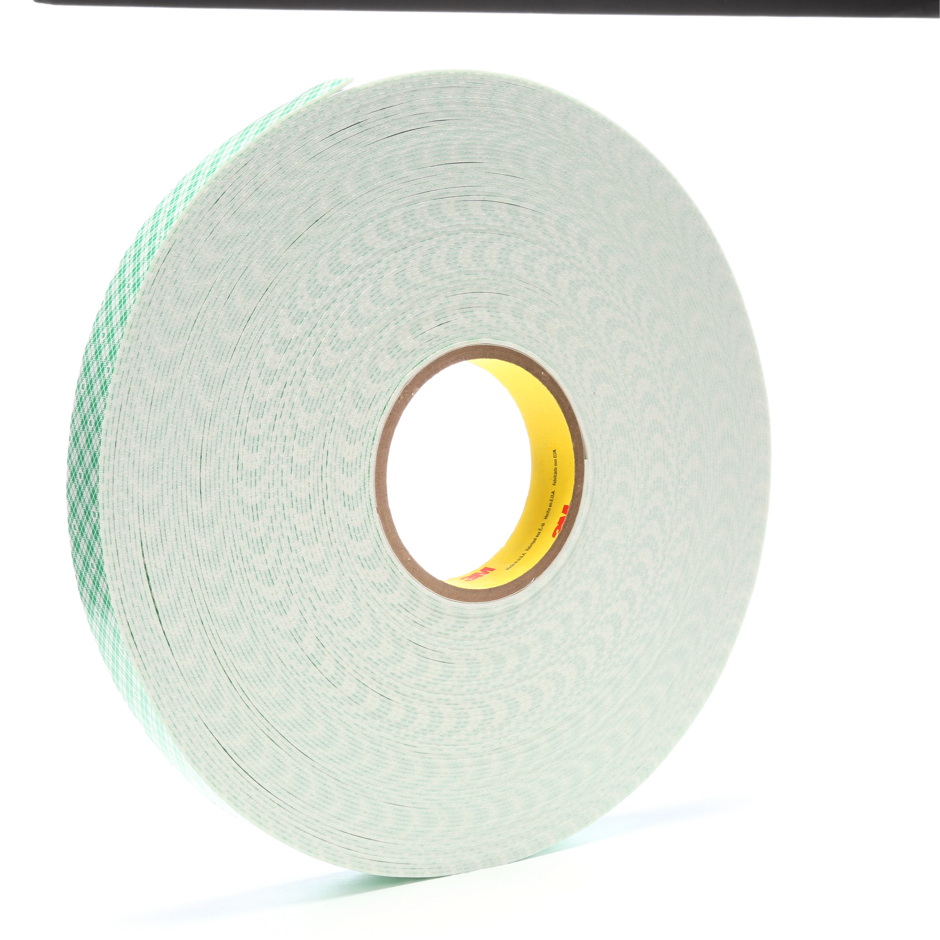 3M™ Double Coated Urethane Foam Tape 4016, Off White, 1 in x 36 yd, 62 mil, 9 rolls per case