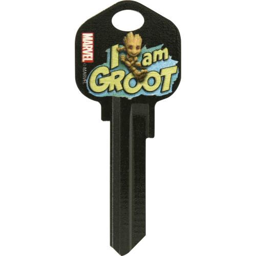 Marvel's I Am Groot Kwikset 66/97 KW1/10 Key Blank