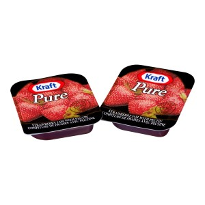 KRAFT PURE confiture de fraises – 140 x 10 mL image