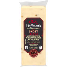 Hoffman's Natural Ghost Pepper Cheese 7 oz Wrapper
