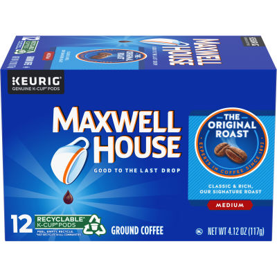 Maxwell House Original Roast K-Cup Pods 3.7 oz Box