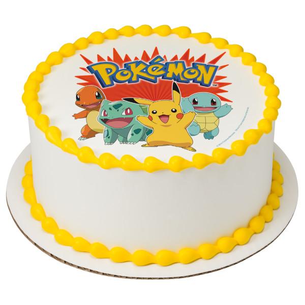Pokémon™ Party PhotoCake® Edible Image®