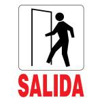"Spanish Exit Sign (5"" x 7"")"