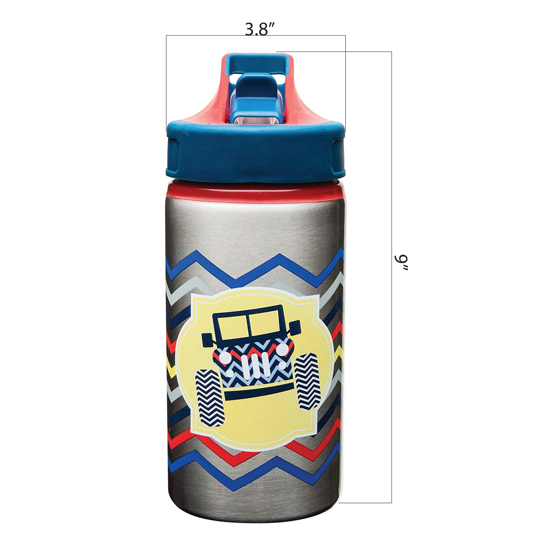Toddlerific 15.5 ounce Water Bottle, 4x4 Trucks slideshow image 4