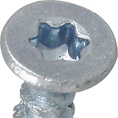 Power Pro ONE Multi-Material Screw Interior Flat Head Zinc-Plated #6 x 1/2