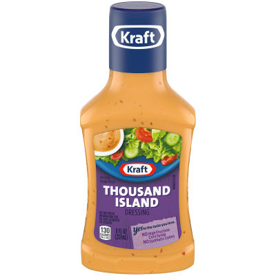 Kraft Thousand Island Dressing 8 fl oz Bottle