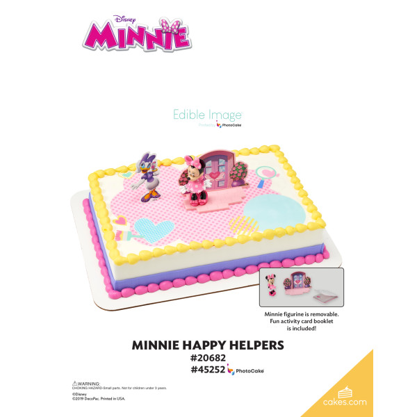 Minnie Mouse Happy Helpers DecoSet® The Magic of Cakes® Page