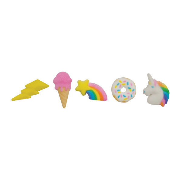 Rainbow Party Assortment Dec-Ons® Decorations