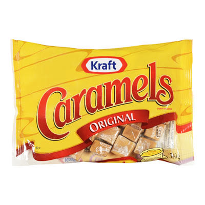 Kraft Caramels Individually Wrapped Candy
