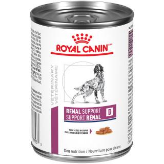 Canine SUPPORT RÉNAL D FINES TRANCHES EN SAUCE – nourriture en conserve pour chiens