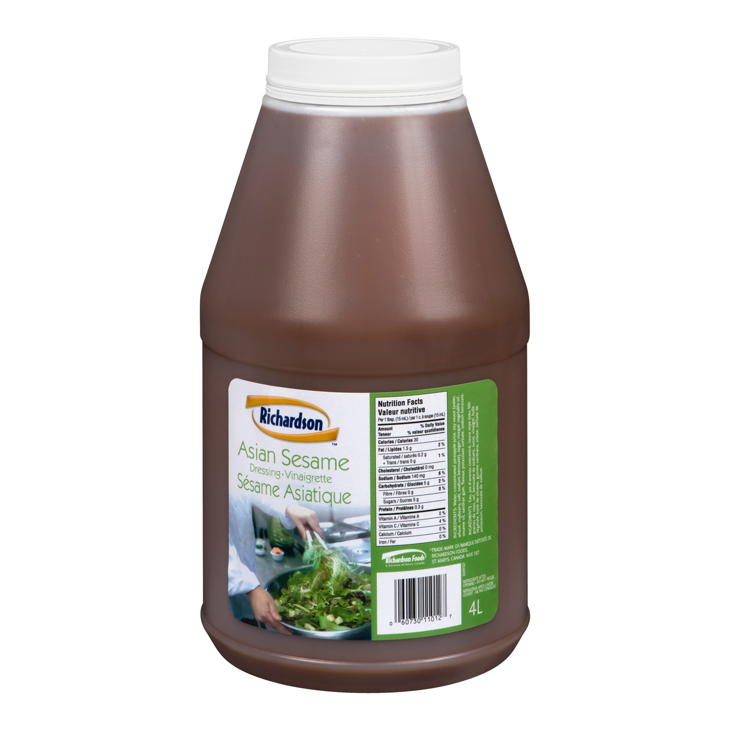 RICHARDSON vinaigrette Asiatique au sésame – 2 x 4 lb