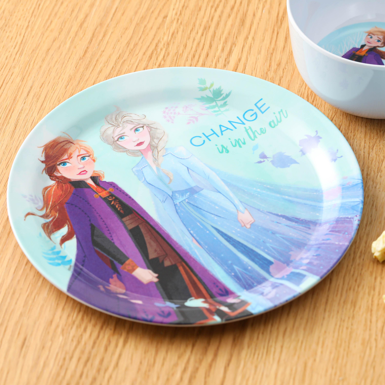 Disney Kid's Dinnerware Set, Frozen 2 Movie, 3-piece set slideshow image 2