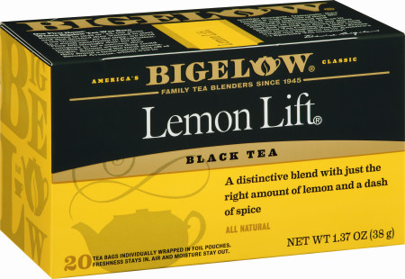 Lemon Lift Tea - Case of 6 boxes - total of 120 teabags