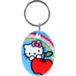 Blue Hello Kitty Key Chain