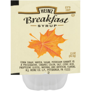 HEINZ Single Serve Syrup, 1.5 oz. Cups (Pack of 100) image