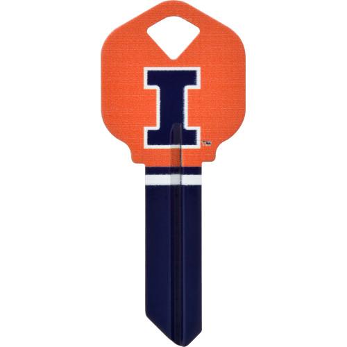 University of Illinois Key Blank