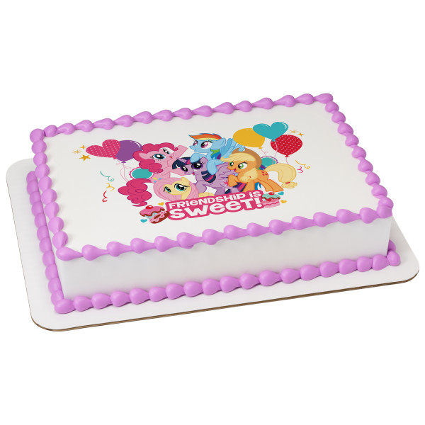 My Little Pony™ Friendship is Sweet PhotoCake® Image