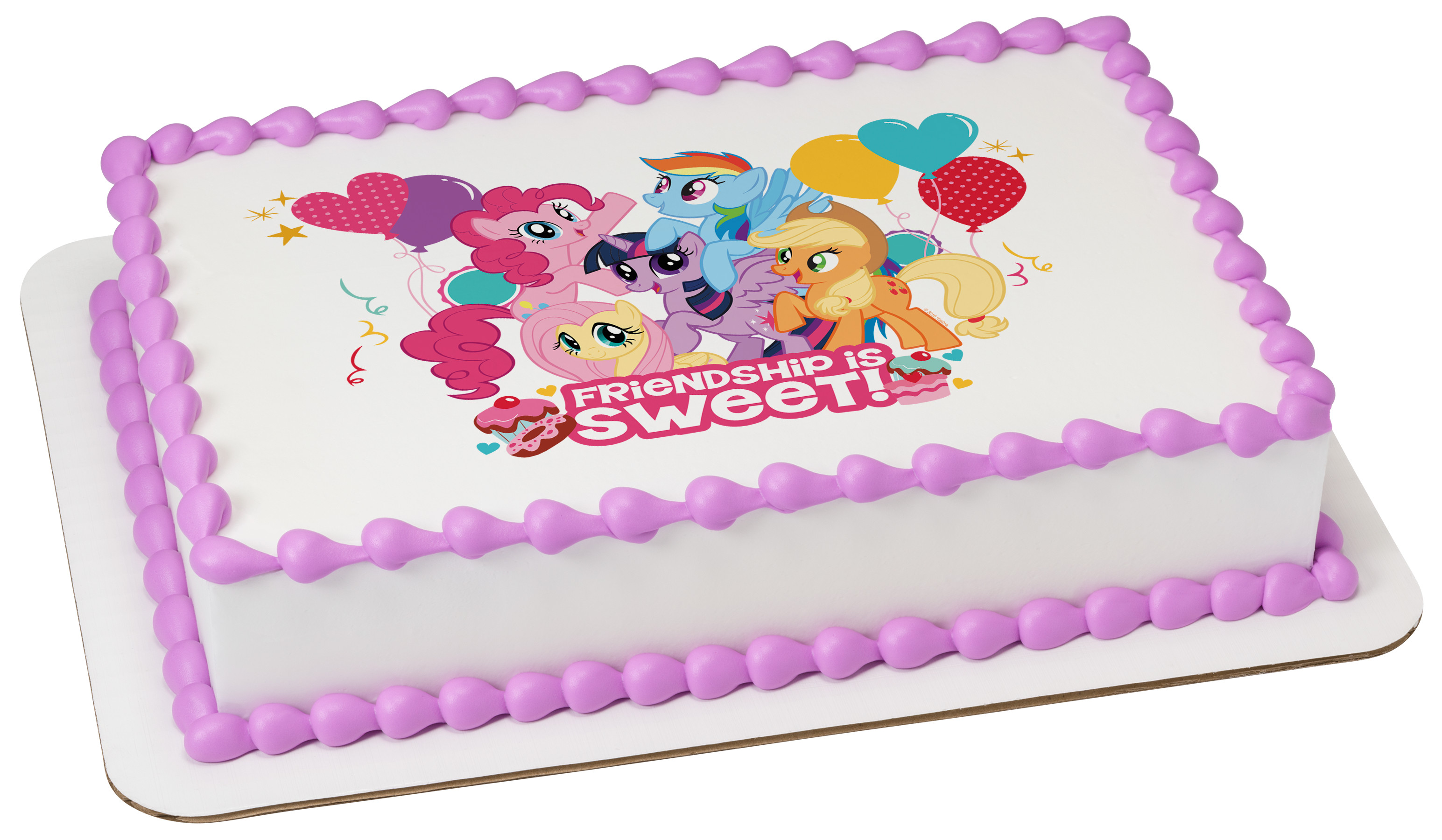 My Little Pony Friendship Is Sweet Photocake 174 Edible