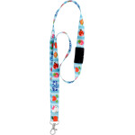 Hello Kitty Patchwork Breakaway Lanyard