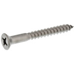 Stainless Steel Flat Head Phillips Wood Screws