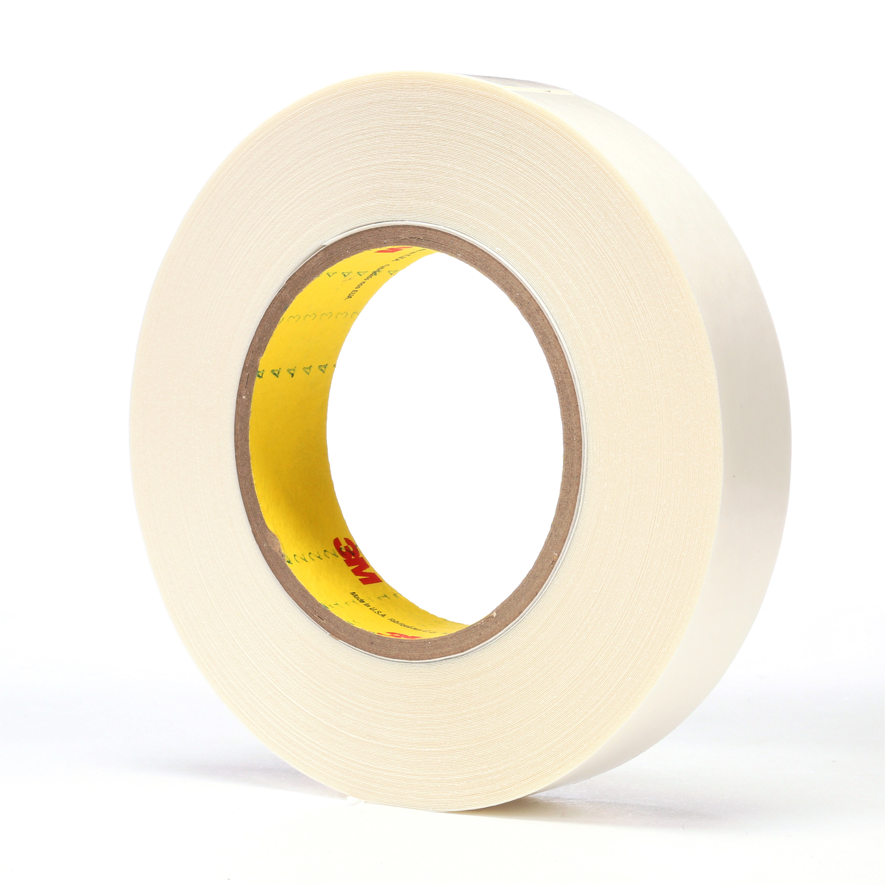 3M™ Double Coated Tape 9579, White, 1 in x 36 yd, 9 mil, 36 rolls per case