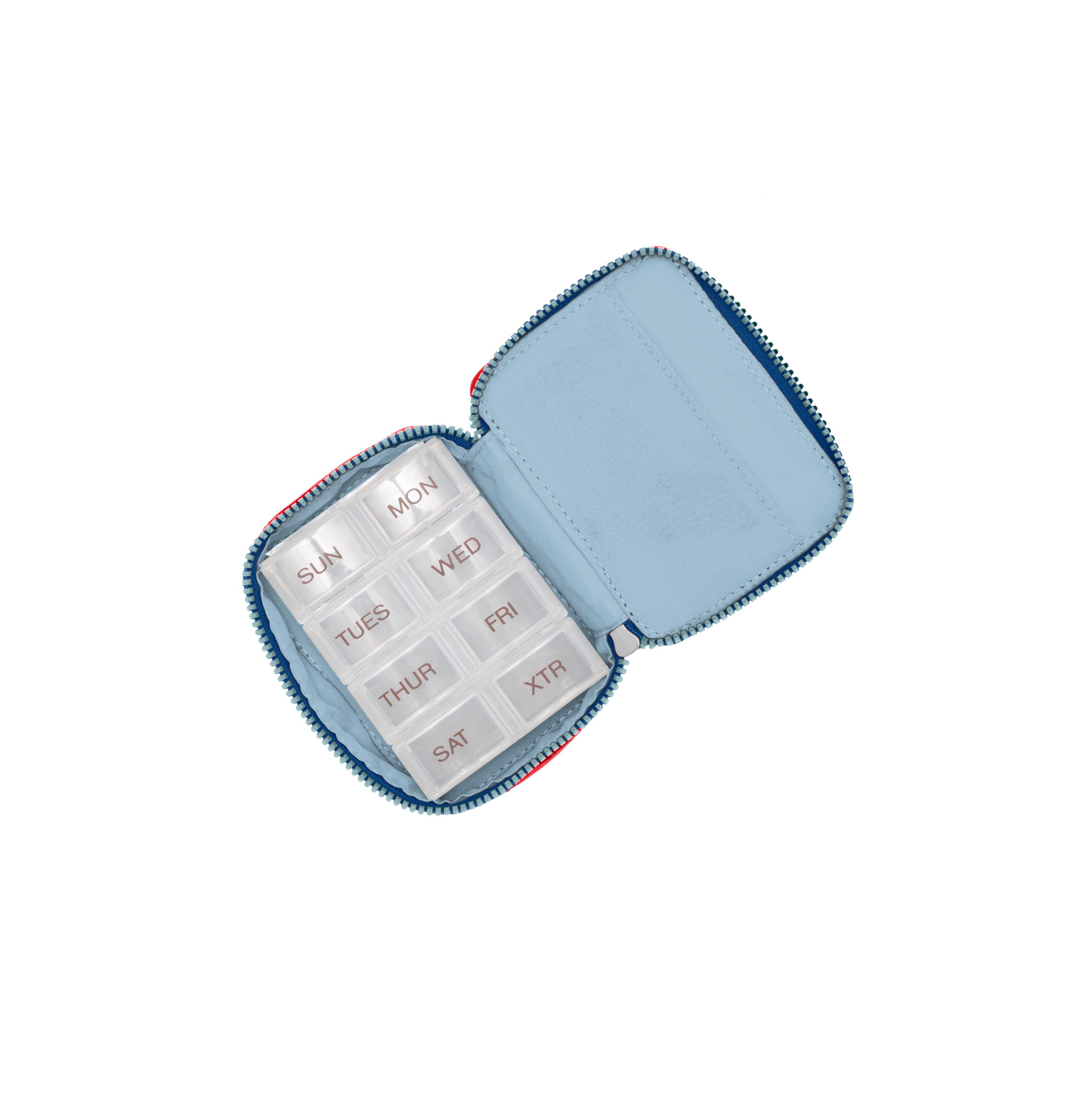 baggallini-Women-039-s-TSA-Friendly-Travel-Pill-Case-Nylon-Multiple-Colors thumbnail 9