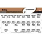 Stainless Steel Metric Socket-Head Cap Screws Assortment (M6-1.00 & M8-1.25 Thread)