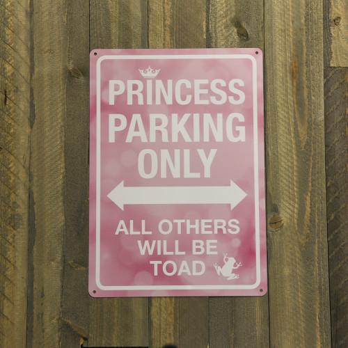 Princess Parking Only Novelty Sign (10