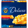 Kraft Deluxe Original Cheddar Macaroni & Cheese Dinner Family Size 24 oz Box