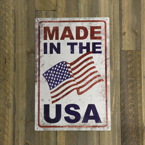 Made in the USA Novelty Sign (12