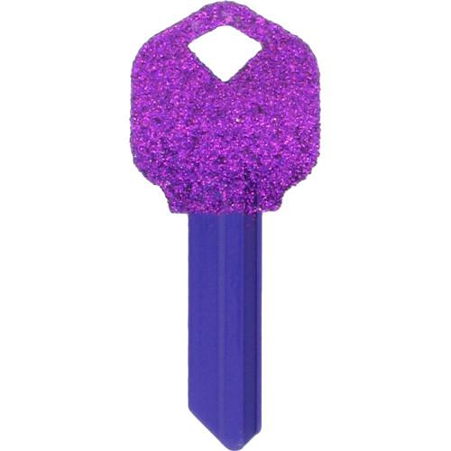 Glitter Key Blank Kwikset/66 KW1