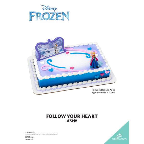 Frozen Follow Your Heart DecoSet® The Magic of Cakes® Page