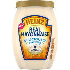 Heinz Real Mayonnaise, 30 fl oz Jar image